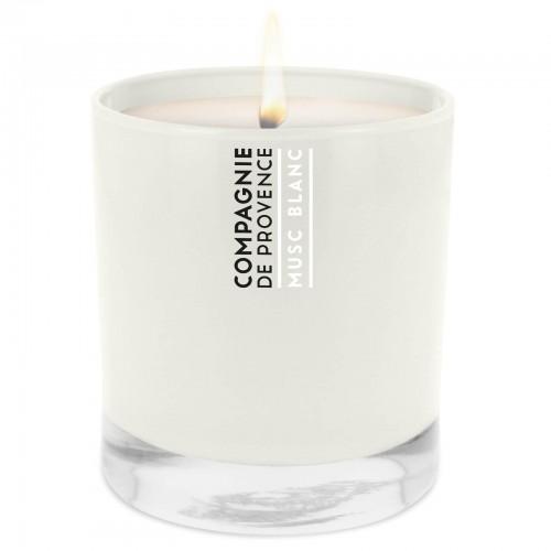 COMPAGNIE DE PROVENCE žvakė - Musc Blanc