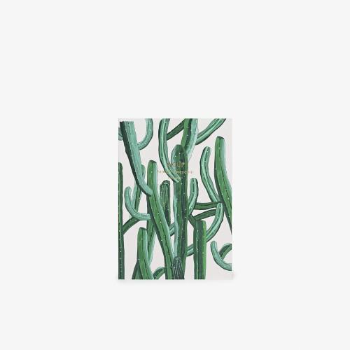Užrašų knygelė Wild Cactus A6