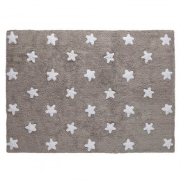 Stars skalbiamas kilimas Linen-White